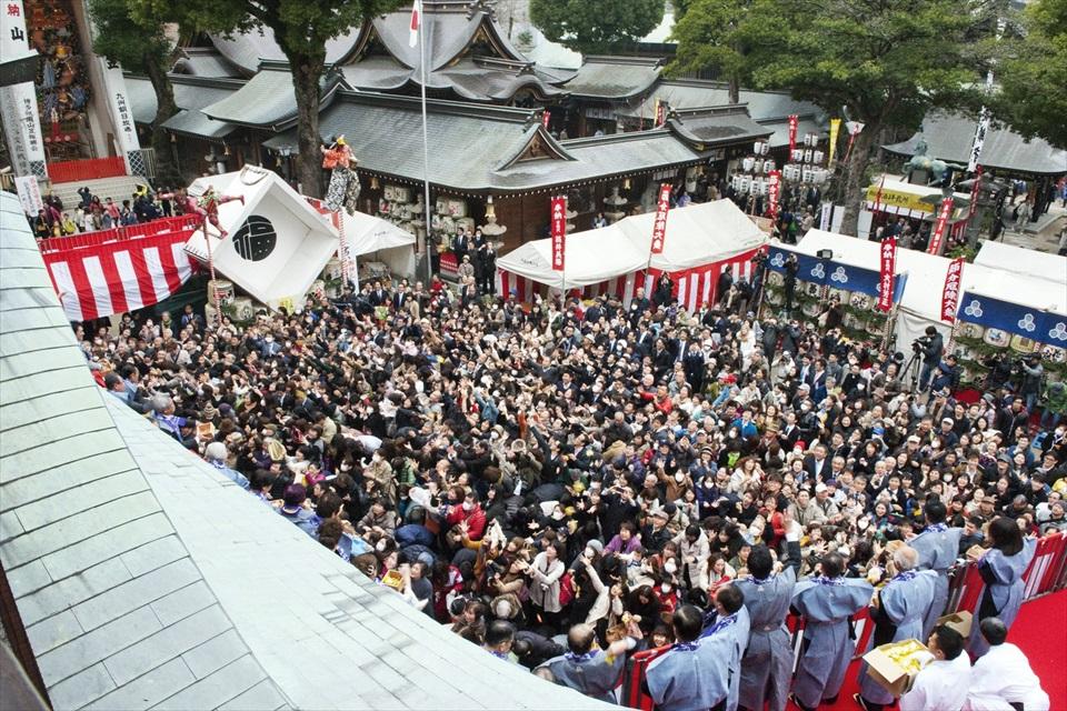 櫛田神社(提供:福岡市)
