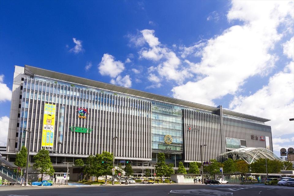 JR博多駅(提供:福岡市)