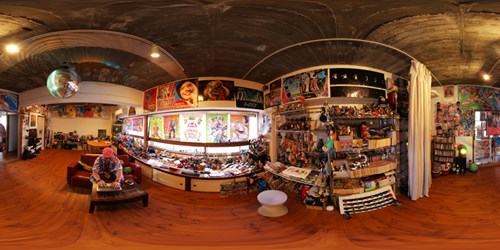 パノラマ:リノベーションミュージアム山王マンション206号室 - BATON