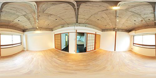 パノラマ:リノベーションミュージアム山王マンション403号室 - 程程程(ほどほどほど)