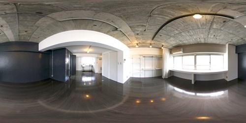 パノラマ:リノベーションミュージアム山王マンション501号室 - Contrast