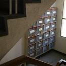 階段室 郵便受け