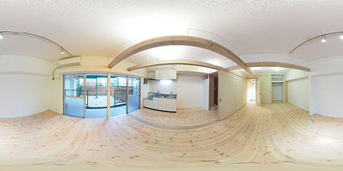 パノラマ:リノベーションミュージアム新高砂マンション206号室 - BEAMS terrace