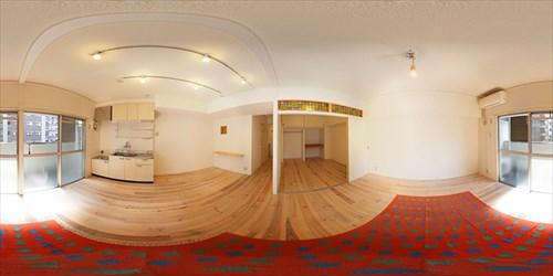 パノラマ:リノベーションミュージアム新高砂マンション307号室 - switch