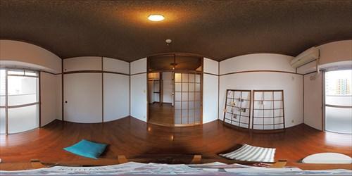 パノラマ:リノベーションミュージアム新高砂マンション604号室 - あったかレトロ