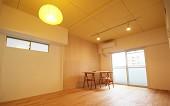 リノベーションミュージアム新高砂マンション704号室 - Yellow淡いイエローの天井が心地よい。女性に優しいお部屋です。