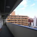 共用廊下から見た大名の眺め