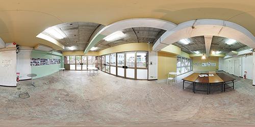 パノラマ:リノベーションミュージアム山王マンション101号室 - ビンテージなポテンシャル