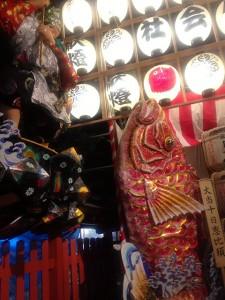 十日恵比須神社にはえびすさんと大黒さんが。