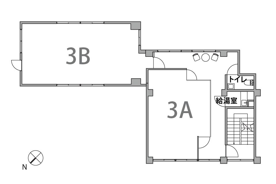ふかみビル 3階