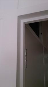 戸当たり塗装写真