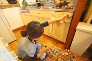続いてキッチンのデコレーションもやっちゃいます!