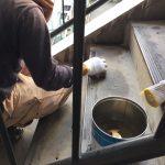 冷泉荘階段共用部防水塗装工事